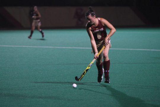 Field Hockey Blows Out No. 16 Harvard