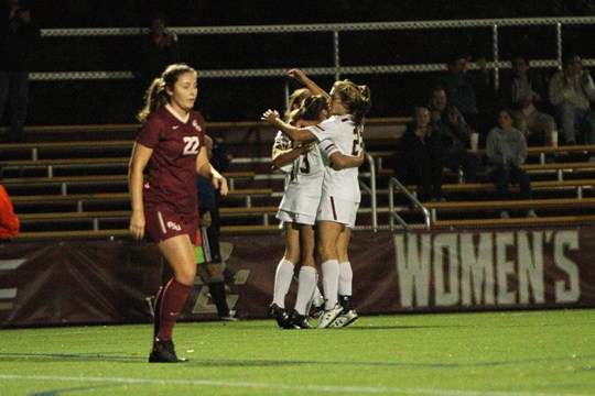 Dowd's Game-Winner Lifts Women's Soccer in Upset of No. 2 Florida State