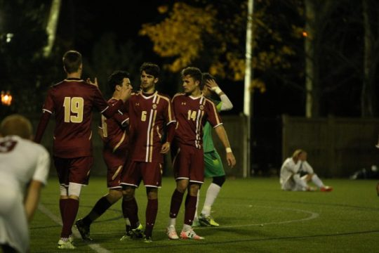 Men's Soccer Defeats Fordham, Takes First Game of NCAA Tournament