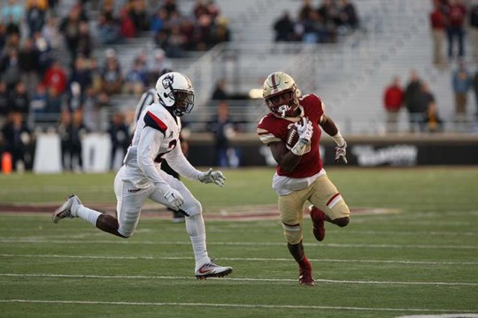 Connecticut Moves Football Game With BC to Fenway Park