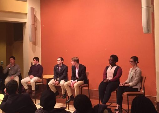 UGBC Presidential Candidates Talk Diversity and Inclusion at Town Hall Event