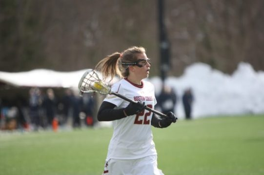 Eagles Top Louisville for First Conference Win