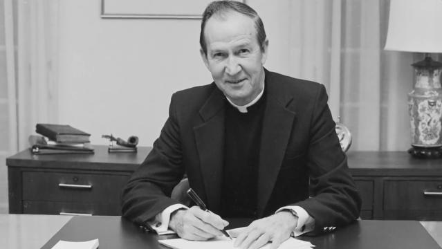 Rev. J. Donald Monan, S.J., 24th University President, Dies at 92