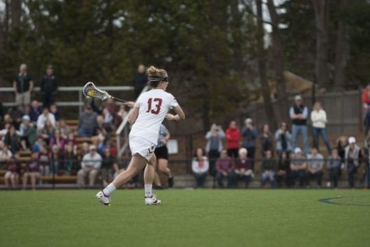 Weeks Records 100th Career Point in Win Over Monmouth