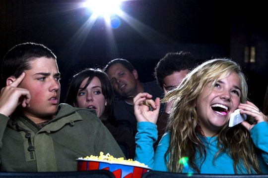 The Unspoken Laws of Movie Theaters
