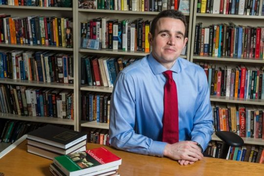 Krause Will Launch New Book About National Movements on Tuesday