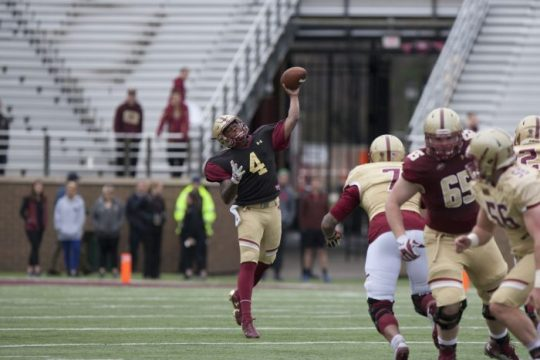 In Spring Game, BC Features Dynamic Offense