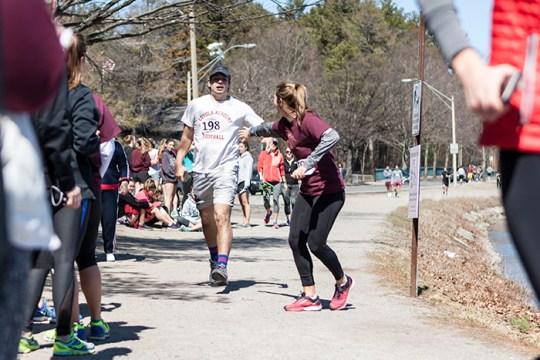 Relay Raises $1,865 for Campus School