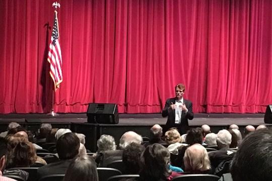 On Sunday, Kennedy Addresses Newton Town Hall