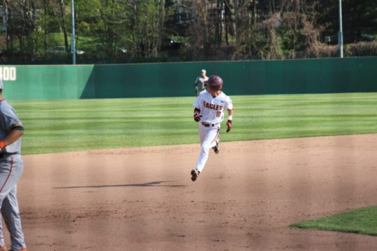 Eagles Hit Four Home Runs in Series-Clinching Win Over Notre Dame