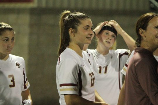 Unbreakable: McKenzie Meehan Overcame Injury to Shatter Records at BC