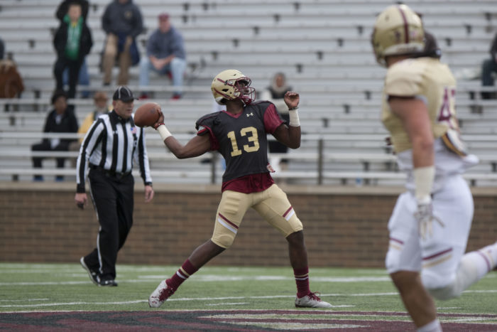 Position Battles Continue in BC's Second Scrimmage