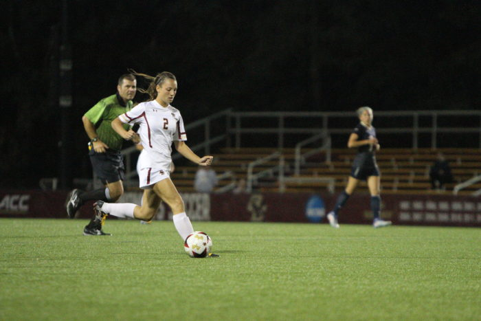 Four Different Eagles Score in Exhibition Victory Over UConn