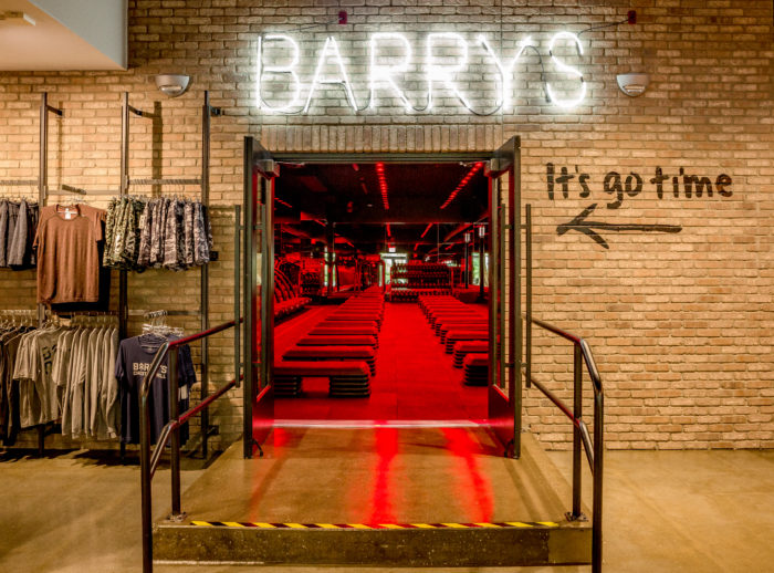 At the Street in Chestnut Hill, Barry's Boston Brings Fitness Junkies Community