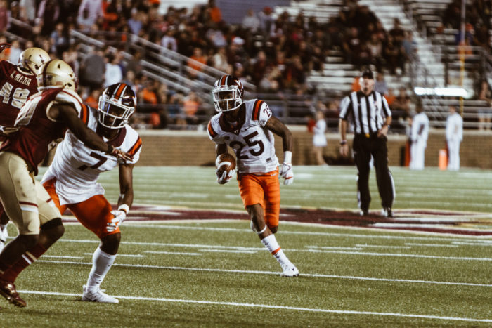 Notebook: Virginia Tech Dominates Eagles in All Three Phases