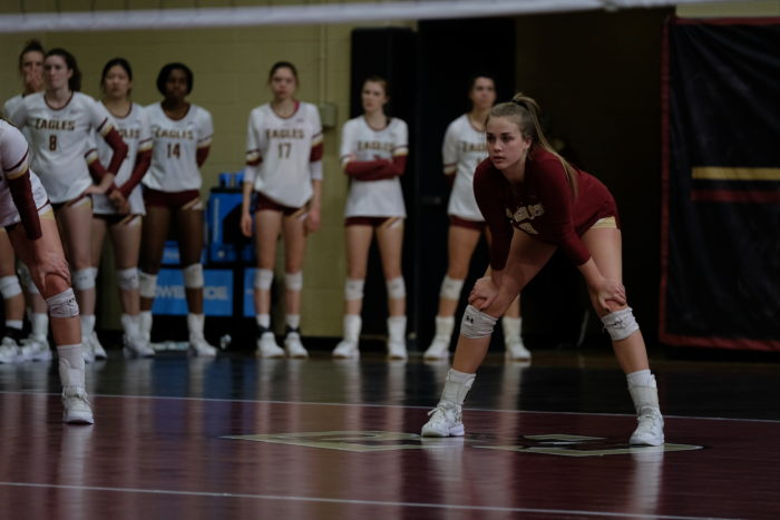Volleyball Drops Regular Season Finale to Notre Dame