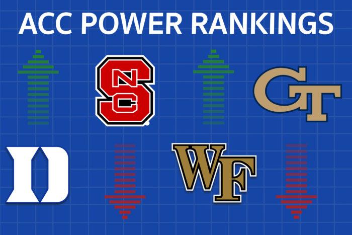 NC State, Georgia Tech Crumble in Week 12 ACC Power Rankings