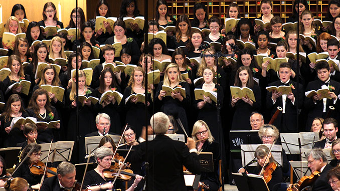 University Chorale Performs 'Elijah' in Dramatic Concert