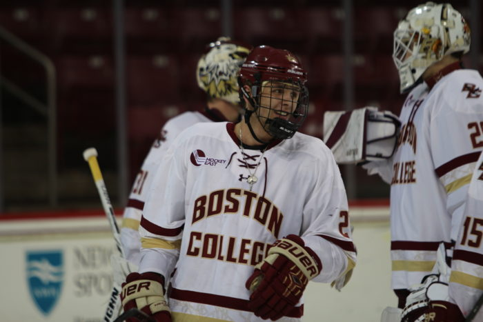 For Men's Hockey, Weekend Sweep Comes at the Right Time
