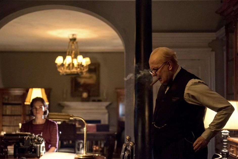 Gary Oldman Shines Bright in 'Darkest Hour'