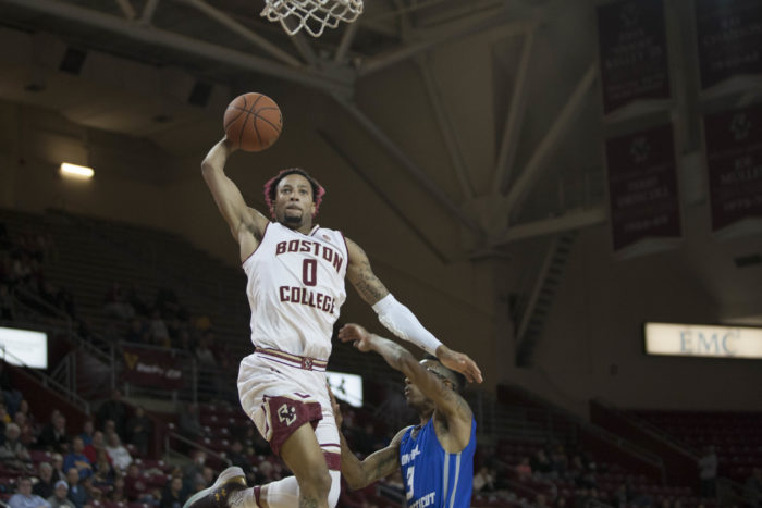 Bench Play Improves, Eagles Run Away With Win Over Central Connecticut State