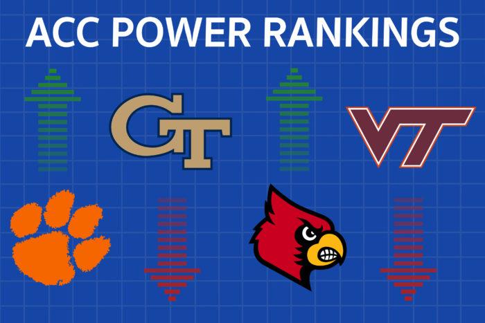 Clemson Back on Top in Week 13 ACC Power Rankings