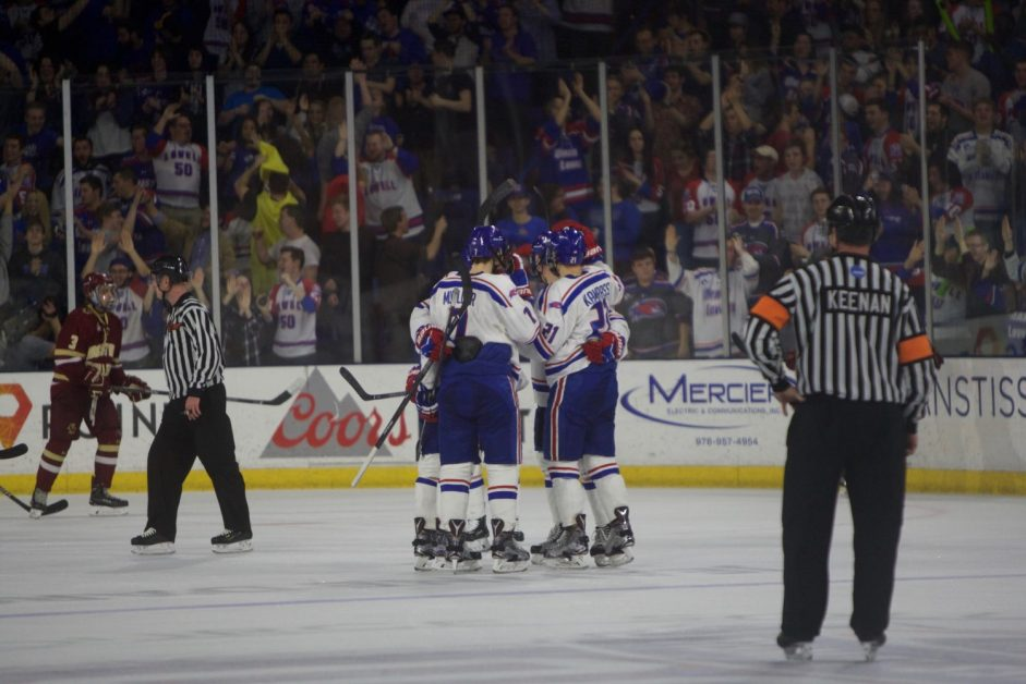 After Equalizing, BC Concedes Game-Winner at UMass Lowell