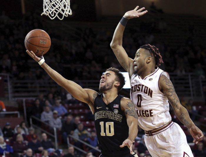 Eagles Grind out Victory Against Wake Forest