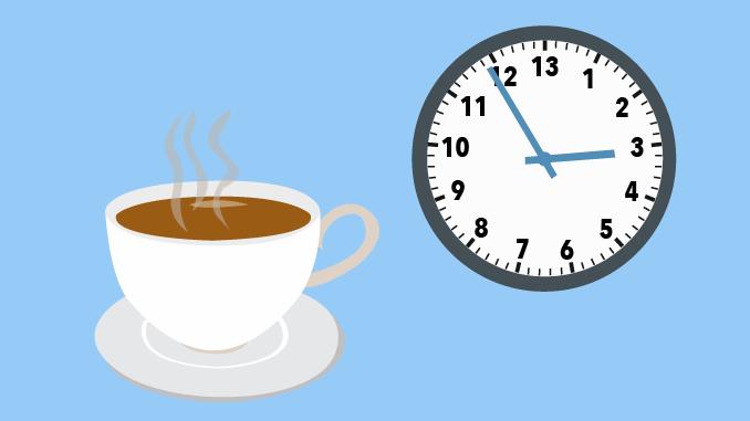 Too Much Caffeine, Too Little Time: TU/TD