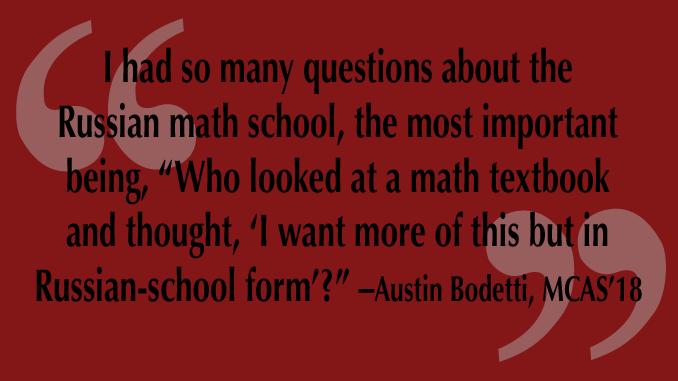 Investigating the Russian Math School