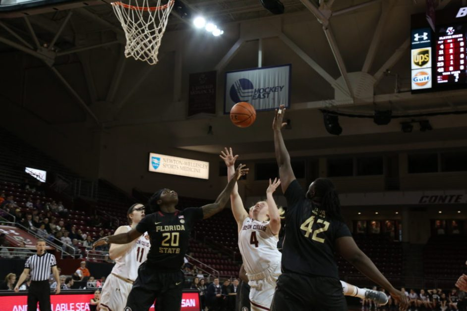 Eagles' Lead Dissipates in Lopsided Second Half at No. 9 Florida State