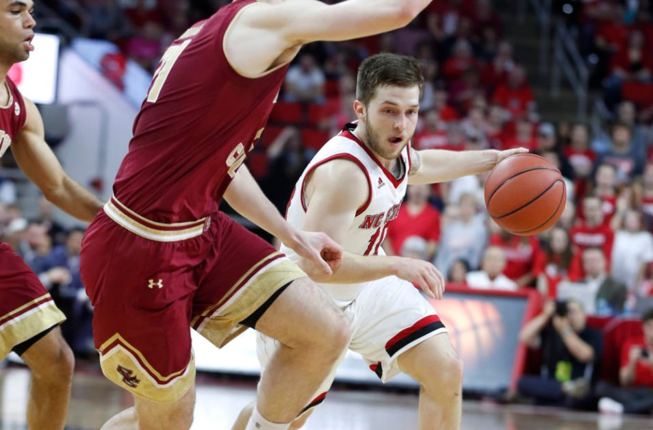 BC Suffers Second-Straight Double-Digit Loss at North Carolina State