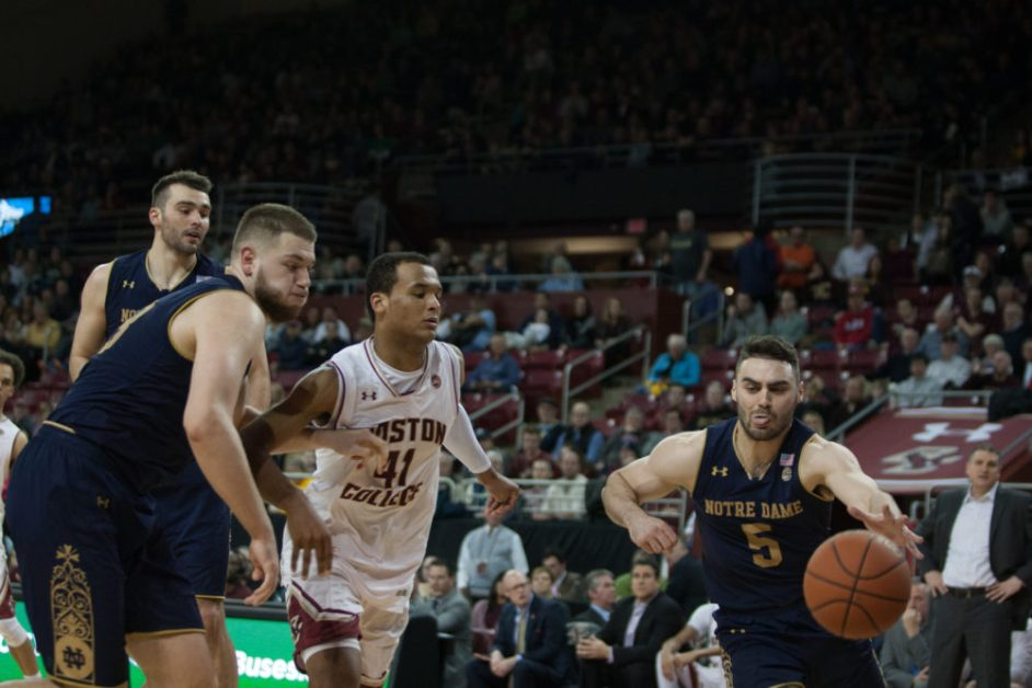Eagles Suffer Setback at the Hands of Farrell, Notre Dame