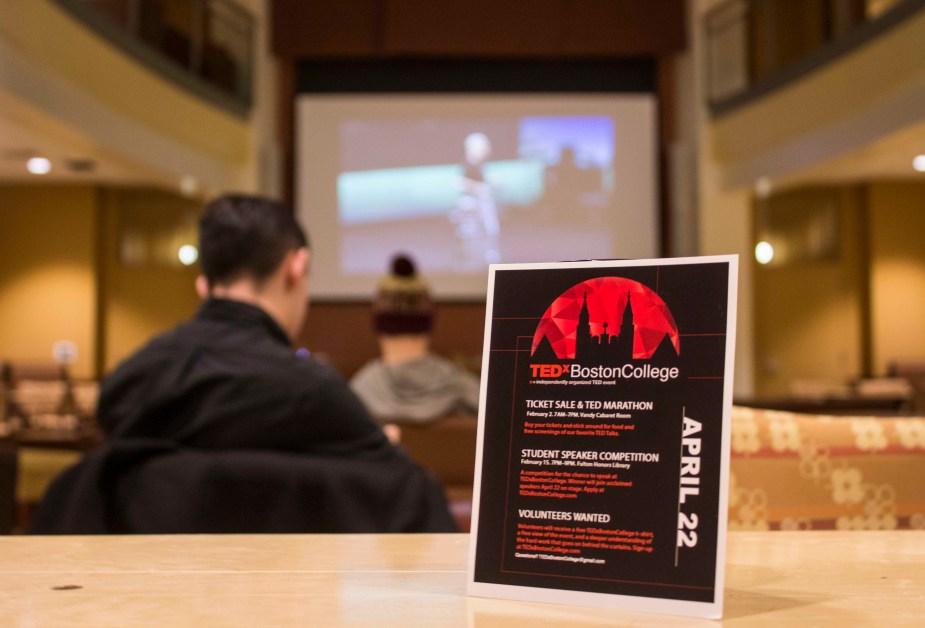 TEDxBostonCollege: Speaker Series to Happen in April