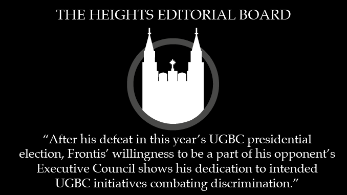 UGBC Resolution is Inclusive and Beneficial, Frontis is Valuable VPDI