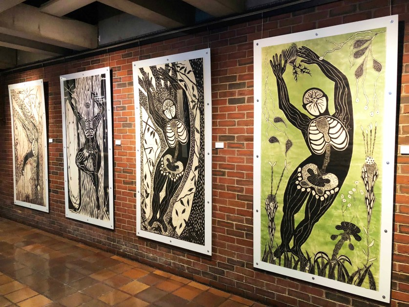 City Hall Opens Gallery, Tale of Women's History Told Through Prints