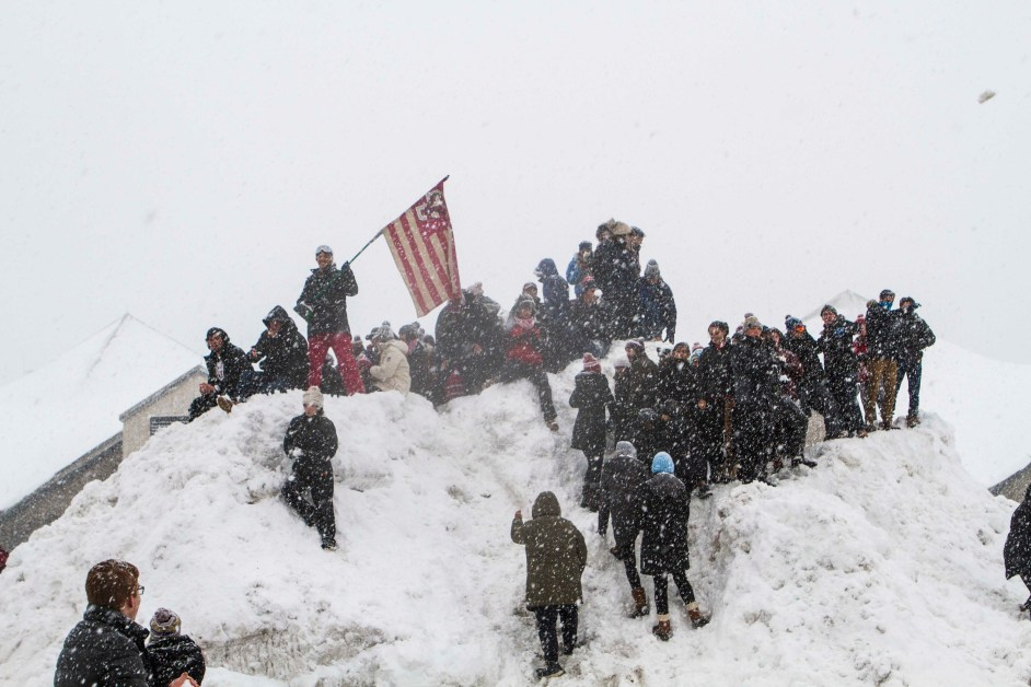Students Celebrate as Storm Blankets BC, Admin Cancels Classes