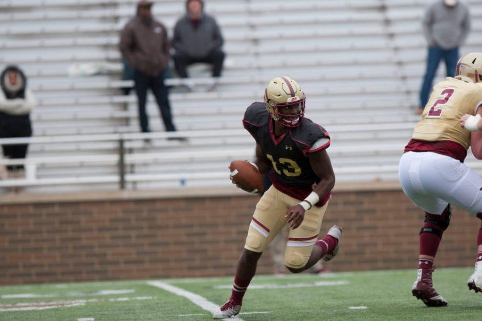 Brown Progresses, Running Backs Shine in Final Preseason Scrimmage