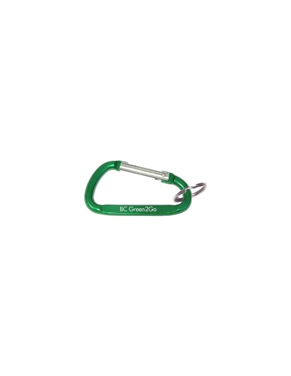 Carabiners will be used as tokens as a part of the newly introduced program. (Image Courtesy of BC Dining)