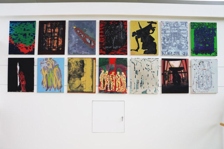McMullen Displays Professor Austen's Abstract Paintings