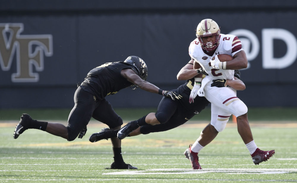 Notebook: Brown, Ray the Stars in BC's Win Over Wake Forest