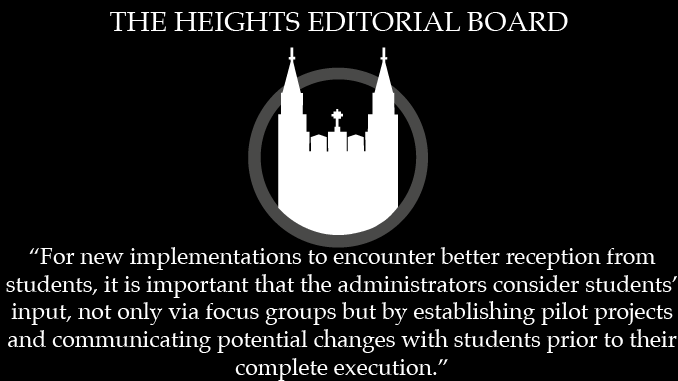 Editorial: Administration Needs to Work With Students for Lasting Solutions