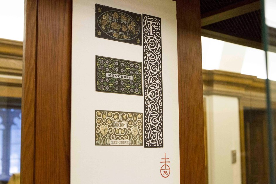 Art of Bookbinding Turns Pages in Roycroft Exhibit