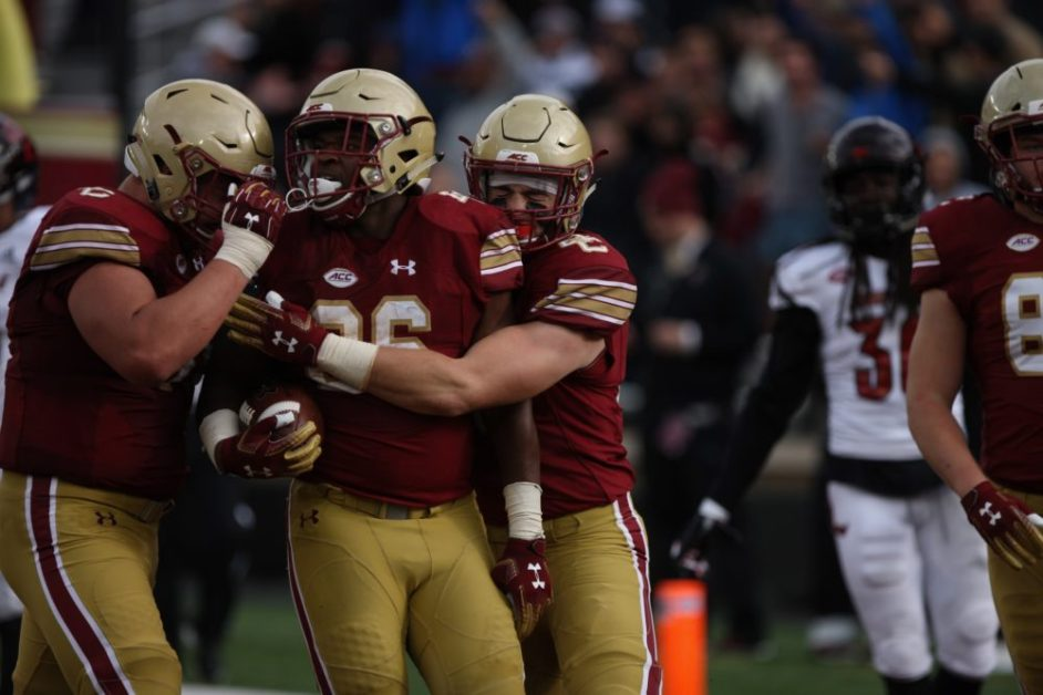 Bailey Ignites Rushing Attack, Carries Eagles to Victory Against Louisville