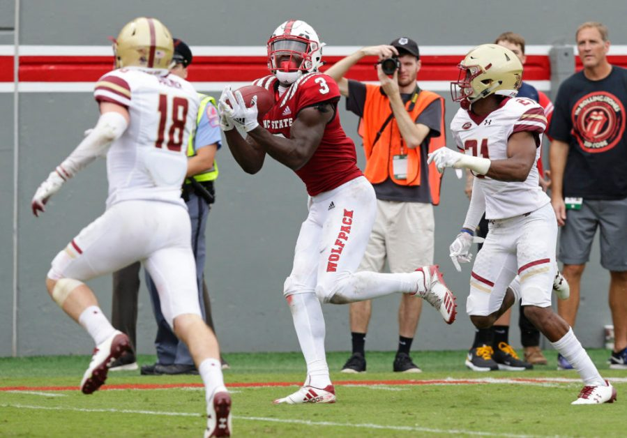 BC's Late-Game Comeback Not Enough to Top No. 23 Wolfpack