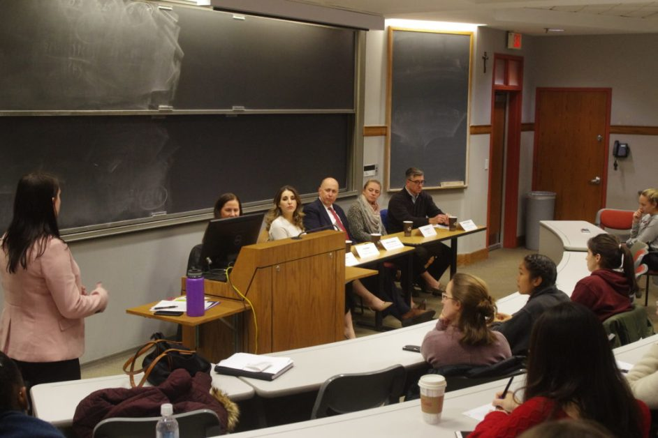 Panelists Credit BC With Global Careers