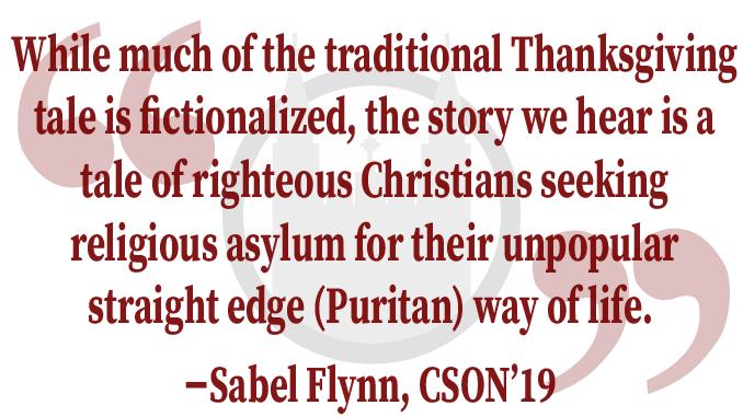 A Meditation on Thanksgiving and Massachusetts Puritanism