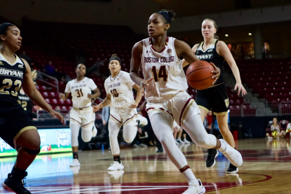 Depth Shines for Eagles in Convincing Win Against Bryant