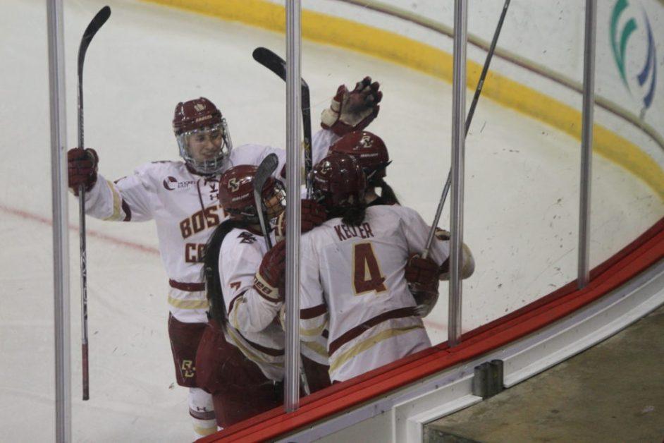 Keller, Lonergan Both Score Twice in Overtime Victory