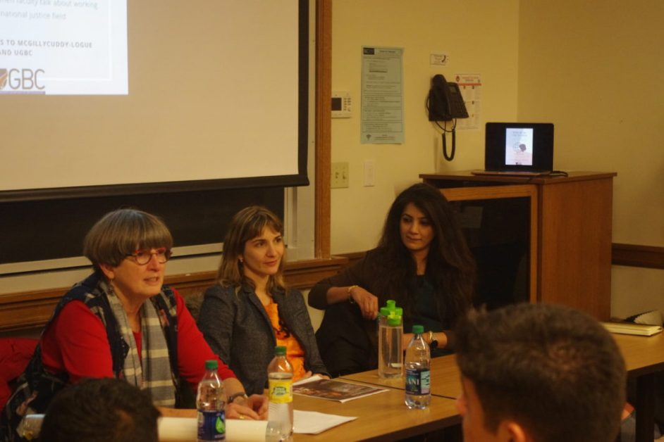 'Who Runs the World?' Discusses Women in International Justice